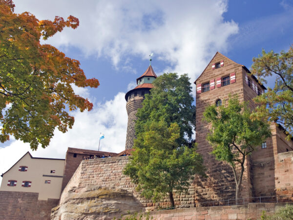 Kaiserburg mit Kaiserburgmuseum Nürnberg