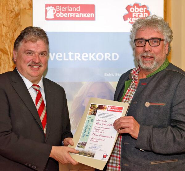 Ehrenbraumeister h.c.: ganz besondere Auszeichnung für Kulmbacher Landrat Klaus-Peter Söllner