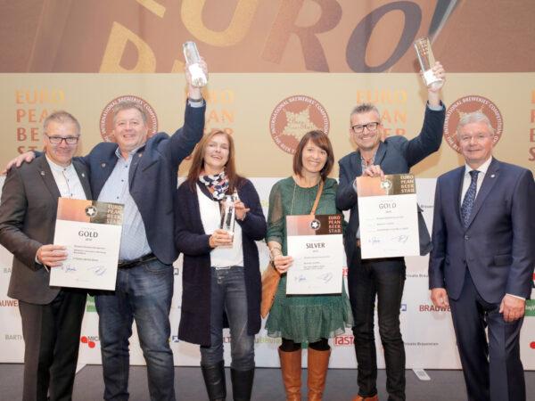 Brauerei Kundmüller ist beste Privat-Brauerei Deutschlands beim European Beer Star