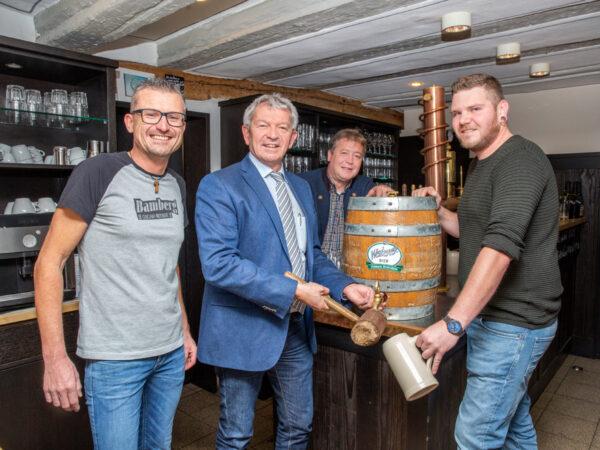 Fassanstich Weiherer / Cervejaria Bamberg Zapfenduster