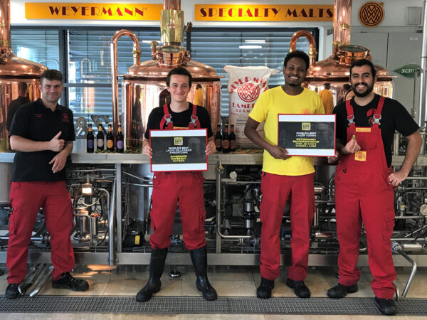 Weyermann® wird zweifacher Weltmeister bei den World Beer Award 2020