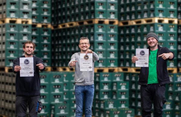 Weiherer Bier - Auszeichnung beim Meininger's International Craft Beer Award